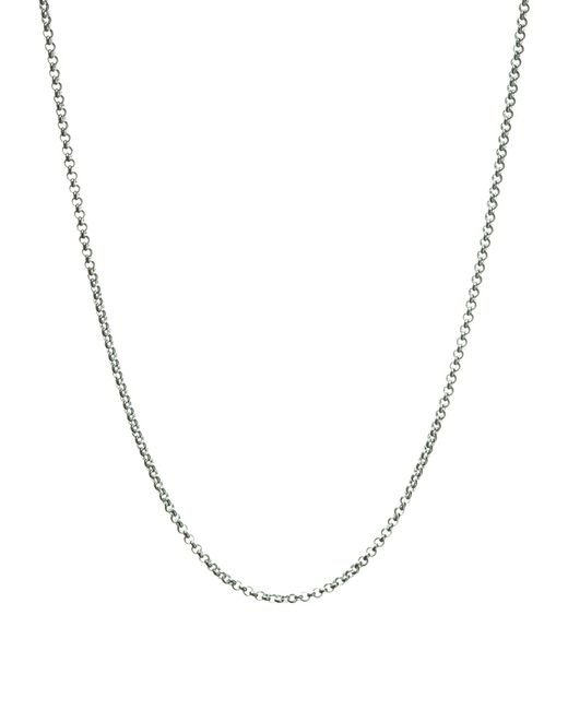 Links of London - Metallic Mini Belcher Pendant Chain - 42cm - Lyst