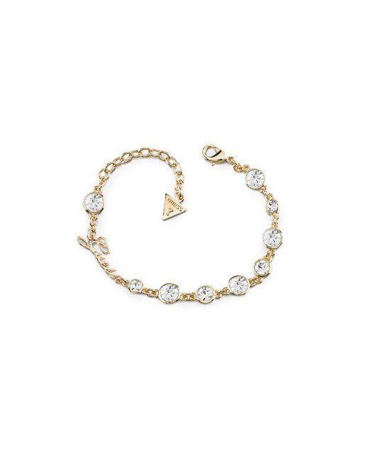 Guess | Metallic Crystal Beauty Bracelet | Lyst