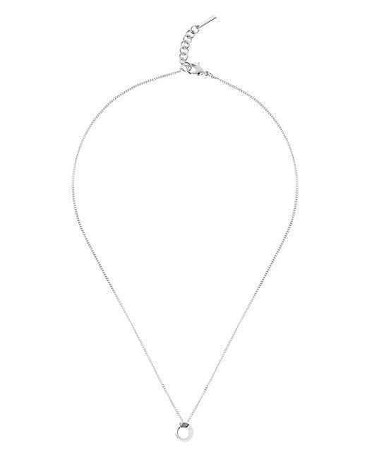 Karen Millen - Metallic Axial Sculpture Pendant - Lyst