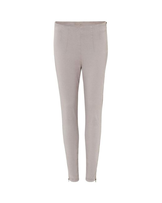 Phase Eight Gray Darted Amina Jeggings
