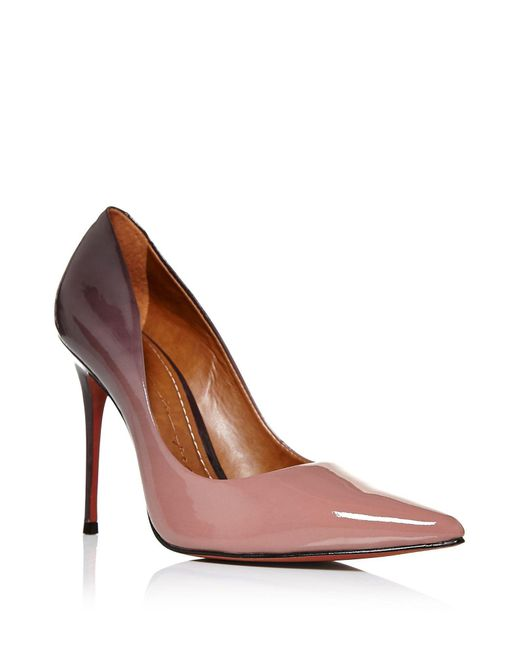 Moda In Pelle - Red Cristina Stiletto Heel Court Shoes - Lyst
