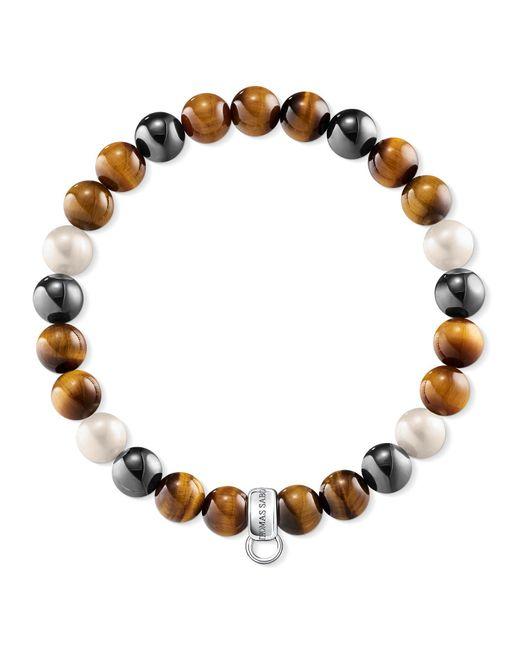 Thomas Sabo | Brown Charm Club Multi-colour Charm Bracelet | Lyst
