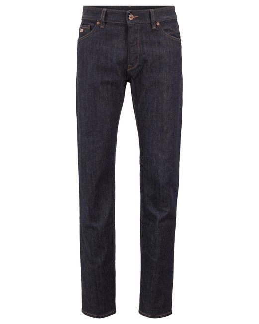 63fdc812c BOSS - Blue Boss Orange Orange72 Skinny Jeans for Men - Lyst ...