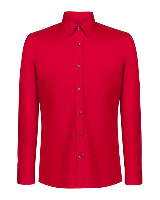 HUGO Red Extra Slim-fit Shirt In Stretch Cotton for men