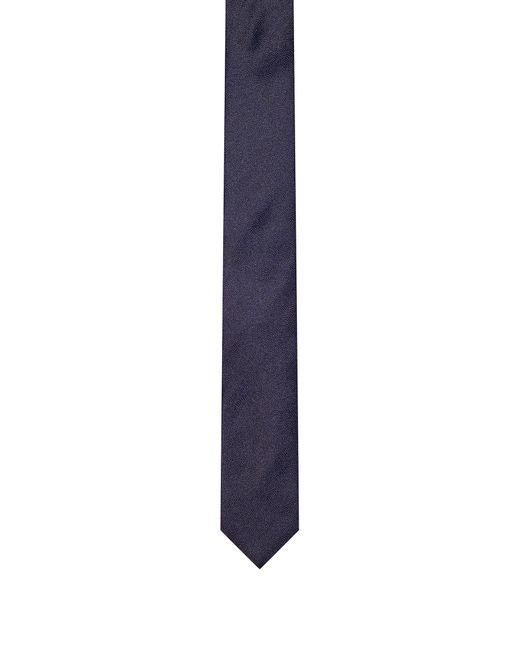 HUGO - Blue Geometric-pattern Silk Tie for Men - Lyst