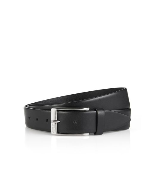 HUGO   Black Leather Belt 'c-eberio' for Men   Lyst
