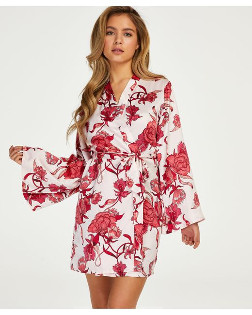 Hunkemöller Kimono Zinnia in het Pink