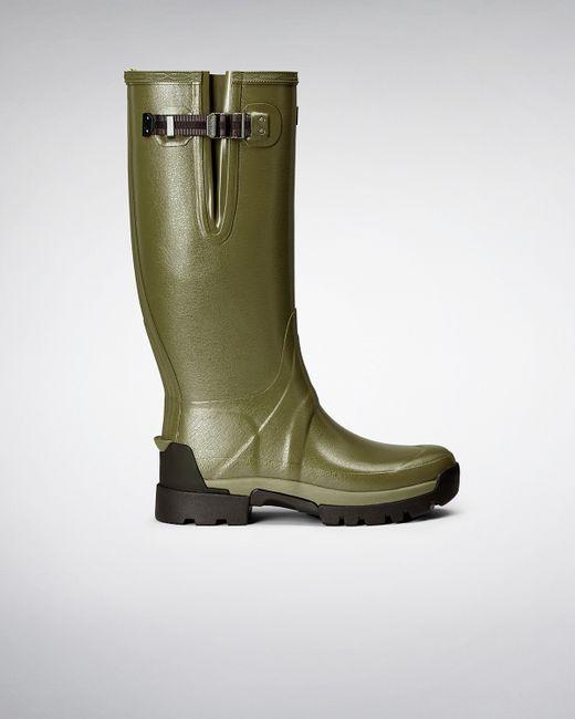 Hunter | Green Balmoral Classic Waterproof Boot for Men | Lyst