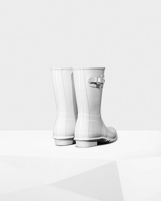 Short Gloss Rain Boots