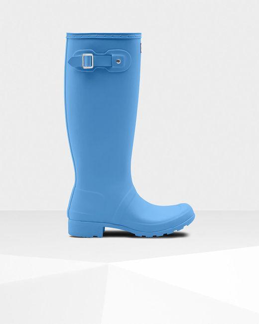 Hunter - Blue Original Tour Rain Boots - Lyst