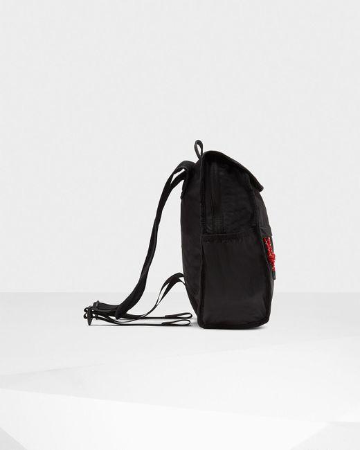 fb1c58c63be8 ... Hunter - Black Original Packable Backpack for Men - Lyst ...