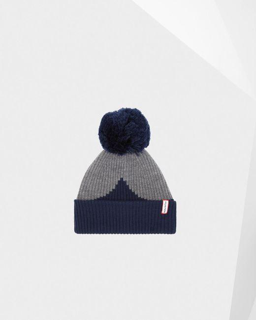 Hunter - Blue Original Moustache Bobble Hat for Men - Lyst