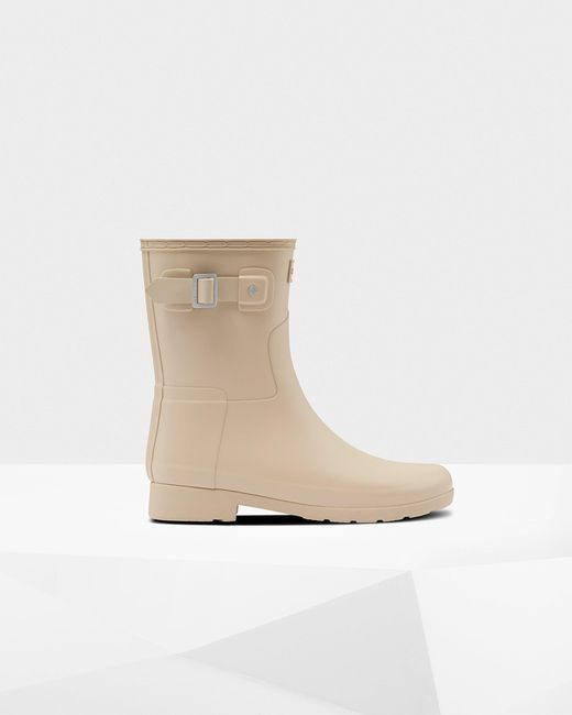 Hunter Natural Refined Slim Fit Short Wellington Boots