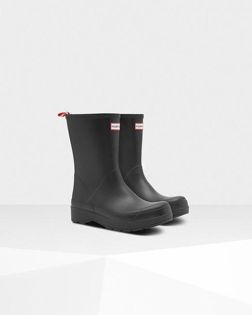 245b0fa518a Black Men's Original Play Mid-height Wellington Boots