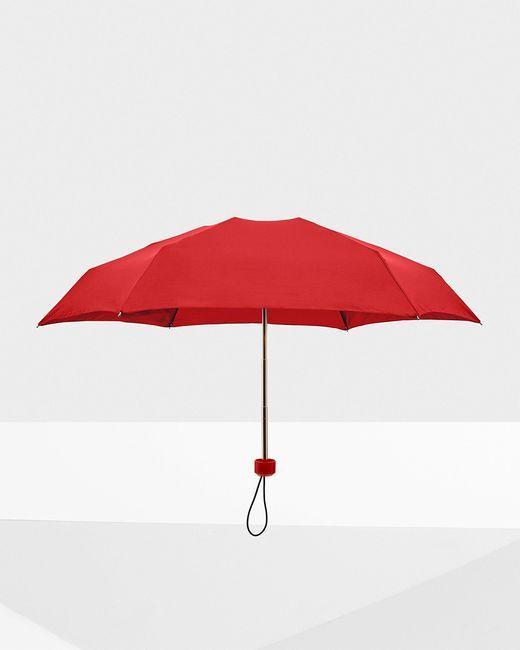 Hunter Red Original Mini Compact Umbrella