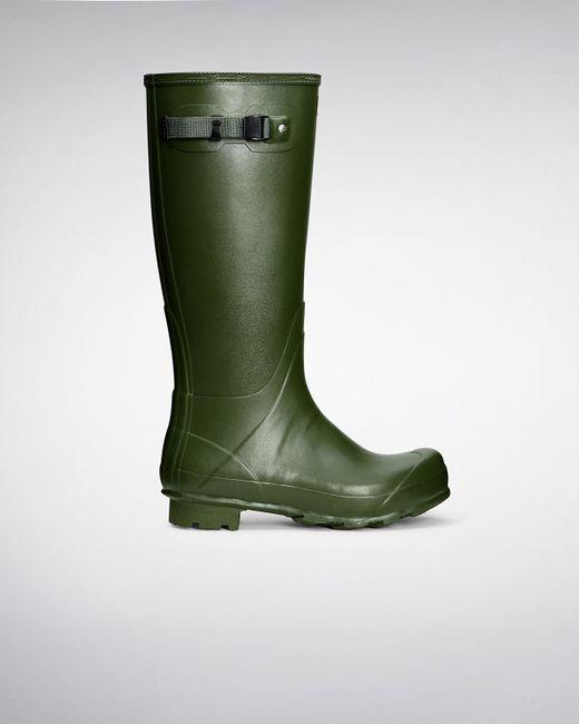 Hunter - Green Men's Norris Field Wellington Boots for Men - Lyst
