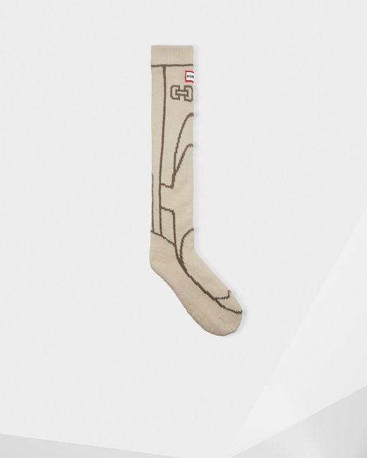 Hunter - Natural Original Boot Slipper Socks for Men - Lyst
