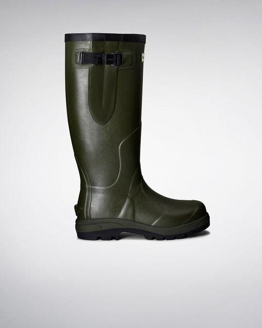 Hunter - Green Balmoral Classic Wellington Boots for Men - Lyst