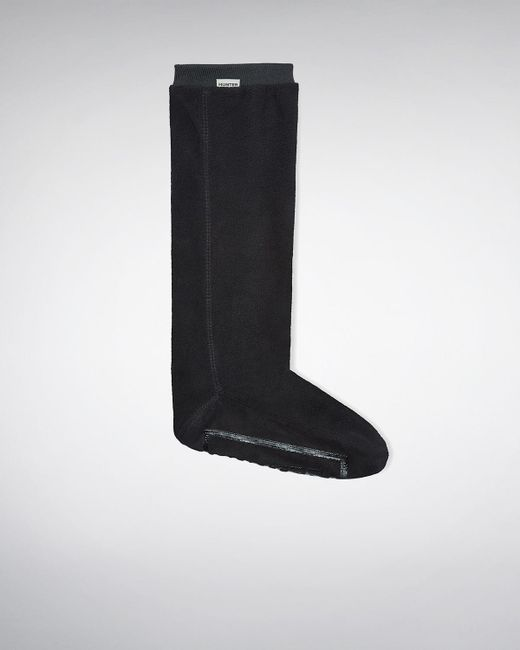 Hunter | Black Fitted Boot Socks - Long | Lyst