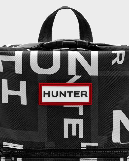 Hunter Black Original Exploded Logo Top Clip Mini Backpack - Nylon for men