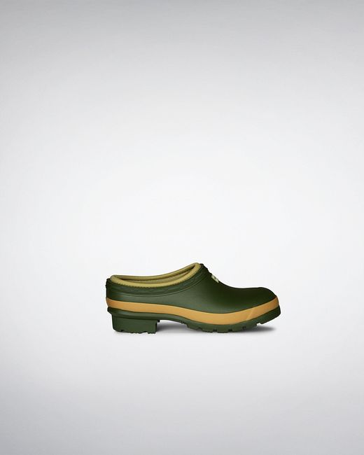 Hunter Brown Gardener Clogs