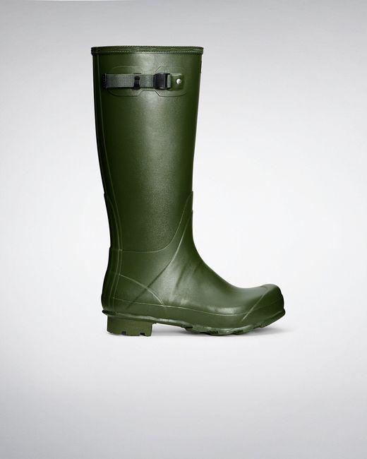 Hunter Green Men's Norris Field Wellington Boots for men