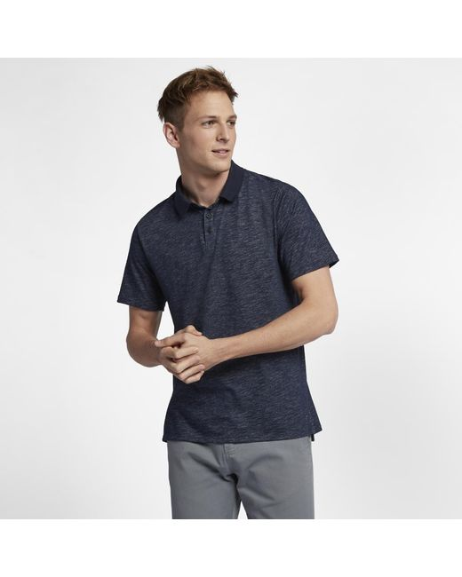 cddfa825 Lyst - Hurley Dri-fit Lagos Polo Shirt in Blue for Men