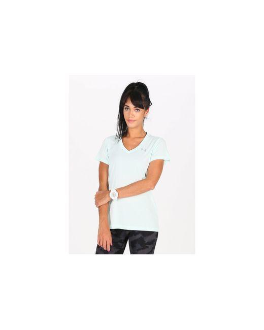 Camiseta manga corta Twist Tech Under Armour de color White