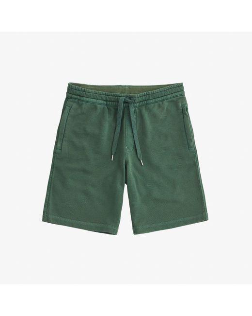 Sun68 Green Pant Short Cold Dye Cott for men