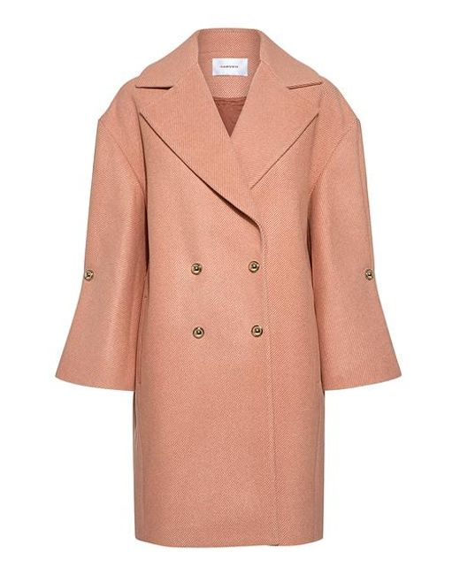 Carven - Multicolor Studed Bell Sleeve Coat - Lyst