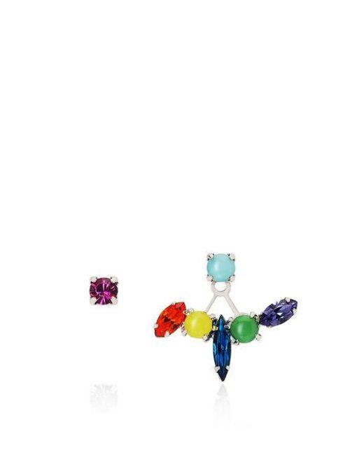 Joomi Lim - Multicolor Candy Crush Crystal Floating Stud Earrings - Lyst