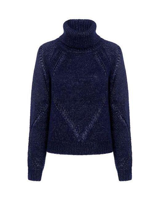 Tanya Taylor - Blue Drop Needle Billi Sweater - Lyst