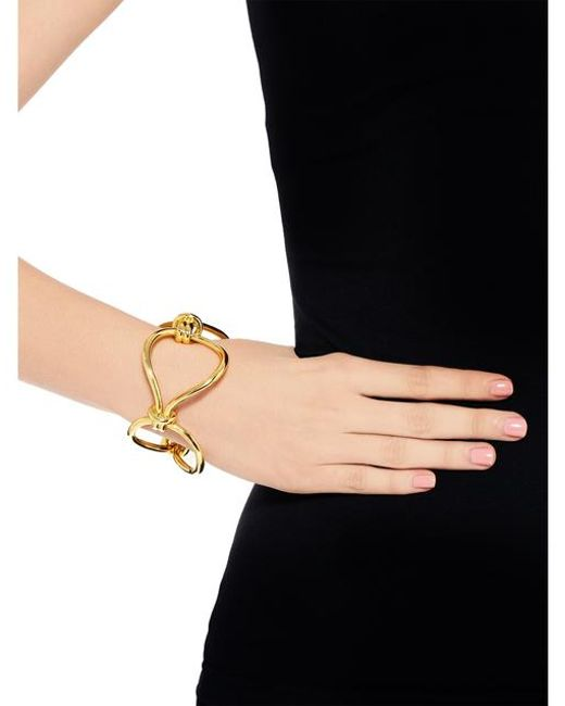 Giles & Brother Cortina Loop Chain Bracelet Gold Plated isttGwBj