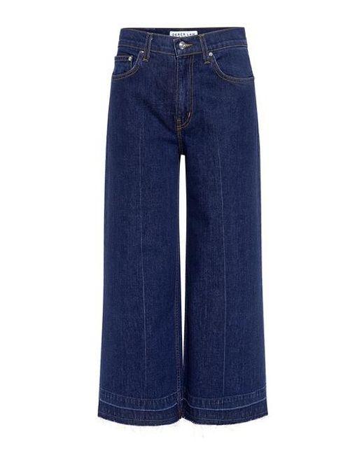 10 Crosby Derek Lam - Blue Dylan High Rise Culotte Jeans - Lyst