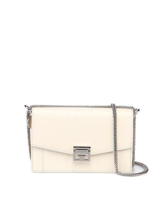 Givenchy White Gv 3 Bag