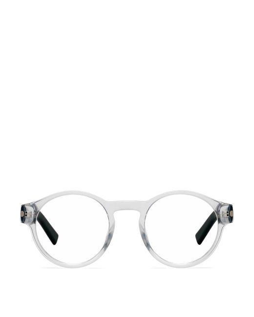 Dior White Acetate Glasses