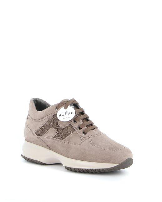 Hogan Beige Suede Sneakers in Taupe (Brown) - Save 6% - Lyst