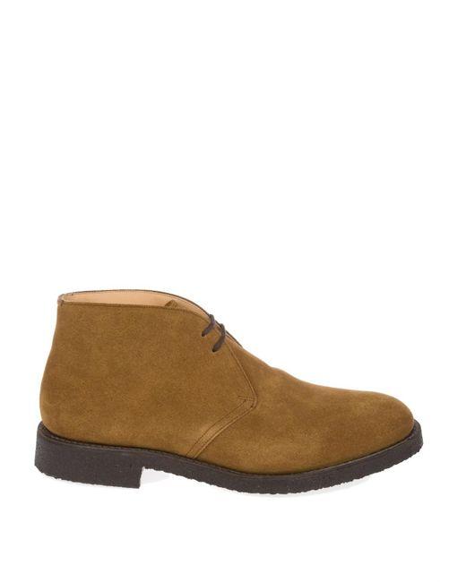 Church's Ryder Light Brown Suede Desert Boots for men