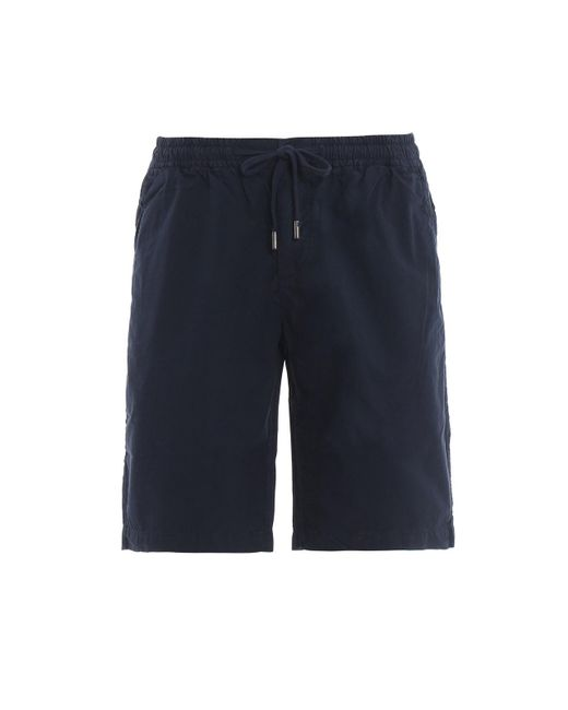 Woolrich Micro Ripstop Blue Shorts for men
