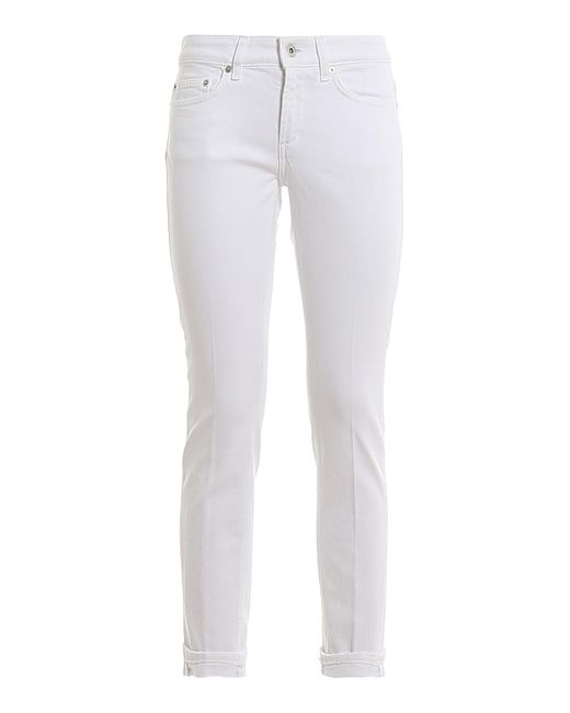 Jeans Monroe di Dondup in White