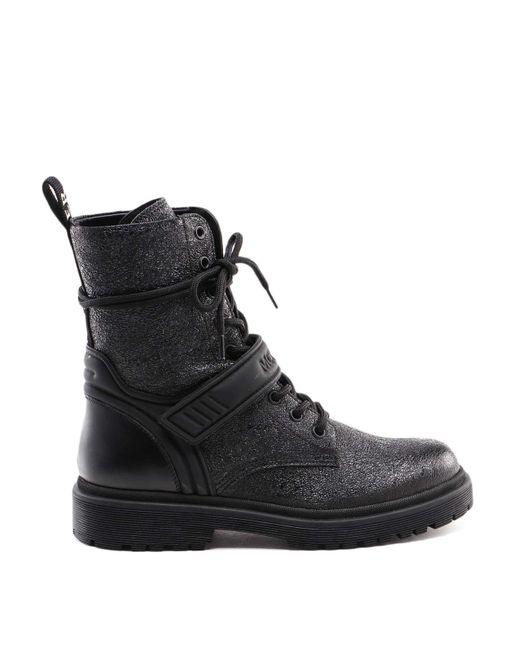 Moncler Black Calypso Ankle Boots for men