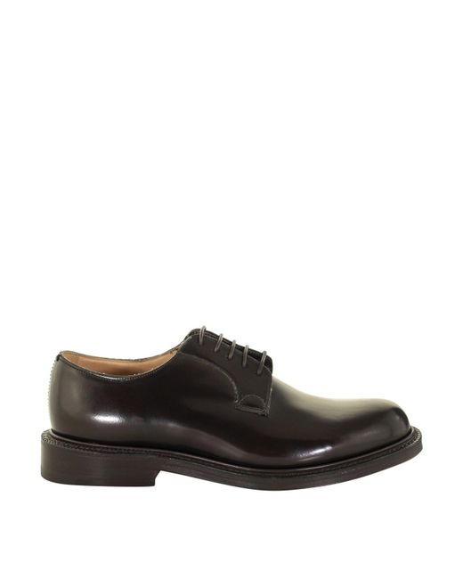 Church's Shannon Brown Polished Leather Derby Shoes for men