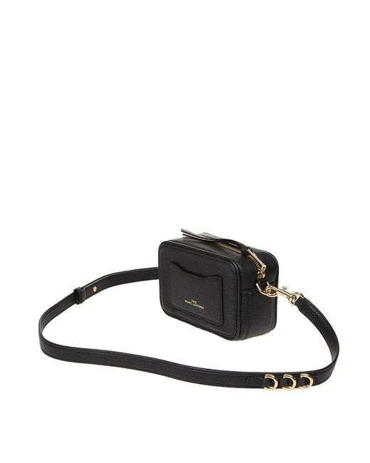 Marc Jacobs Black The Softshot 17 Bag