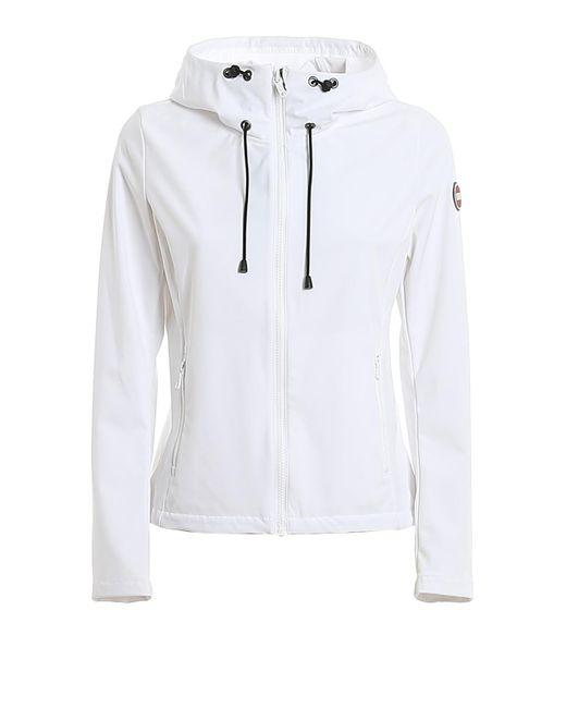 Giacca in tecno tessuto stretch bianca di Colmar in White
