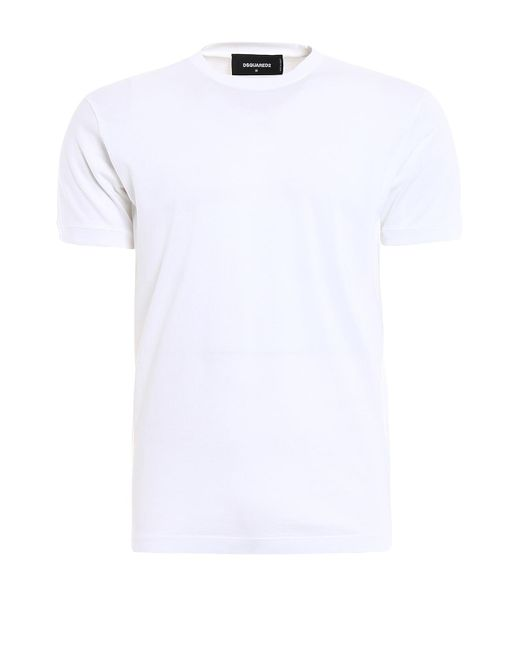 DSquared² Total White Tee for men