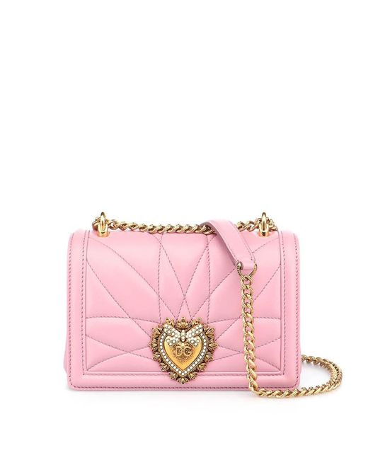 Dolce & Gabbana Pink Devotion Small Bag