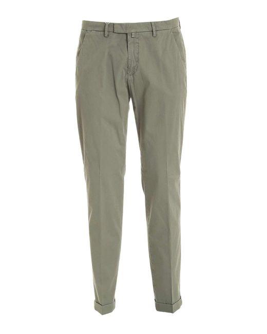 Pantalone delave verde di Briglia 1949 in Green da Uomo