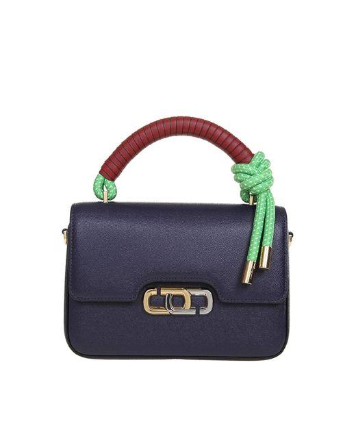 Marc Jacobs Blue The J Link Shoulder Bag