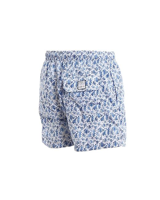 Fedeli Men's Blue Madeira Airstop Swim Shorts