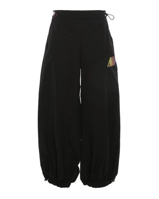 The Attico Black Elon Trousers